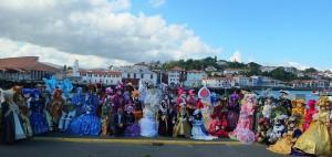 groupe des costumés St Jean de Luz 2015