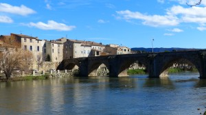 le vieux pont sur l'Aude, Limoux